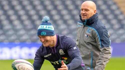 Stuart Hogg backs Scotland boss Gregor Townsend after World Cup exit