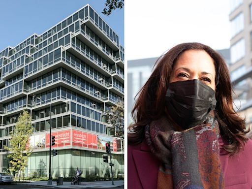 Kamala Harris just listed her Washington, DC condo for $2 million as she moves into the vice president's official residence