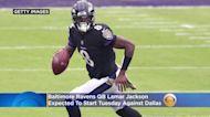 Baltimore Ravens QB Lamar Jackson Expected To Start Tuesday Against Dallas