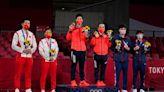 桌球混雙金牌戰 中國的謎之加油團
