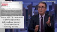 John Oliver Blasts AT&T Over Its Connection to One America News | THR News