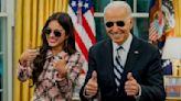 Olivia Rodrigo discusses the 'strange' gift she received from President Biden
