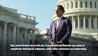 "Raskin: Stakes ""enormous"" in Bannon Jan. 6 case"