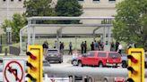 Officer dead after burst of violence outside Pentagon