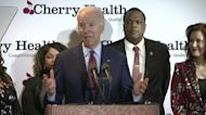 Biden says will 'stand firm' against an Obamacare overhaul