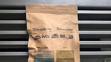 新型食物夾鏈袋防止變質又能殺菌,用完直接紙類回收