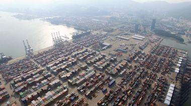 中國華南所有港口阻塞 航運費續漲