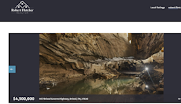 Cave created by underground river hits Tennessee market for $4.5 million. Look inside
