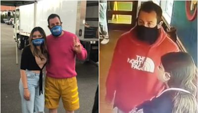 Adam Sandler surprises restaurant worker who turned him away from IHOP in viral TikTok clip
