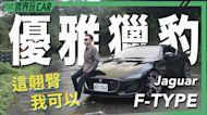 【跨界玩Car】JAGUAR F-TYPE P300 R-DYNAMIC │ 優雅獵豹
