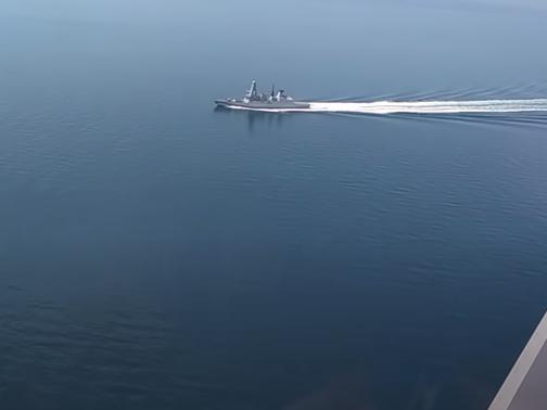俄國防部稱鳴槍投彈警告英驅逐艦 英軍方否認