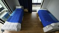 Athletes Go Viral for Testing Beds in Olympic Village