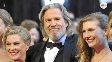 Jeff Bridges says his tumor 'drastically shrunk' since lymphoma diagnosis