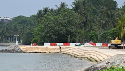 How will Singapore's coasts change amid rising sea levels?