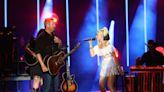 Blake Shelton Introduces Gwen Stefani as 'Gwen Stefani Shelton' During CMA Summer Jam Performance