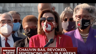 Nancy Pelosi bizarrely thanks George Floyd for 'sacrificing' his life for justice