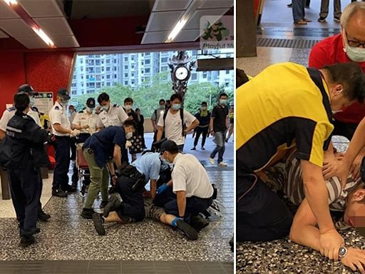 青年遭港鐵職員跪頸制服 區議員批不應使用武力 港鐵認觀感不理想 | 蘋果日報