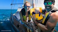 YouTube-famous couple talk raising a baby on a sailboat during a pandemic