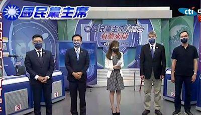 KMT主席大擂台直播》直球對決看中天! 四雄辯論火花四射