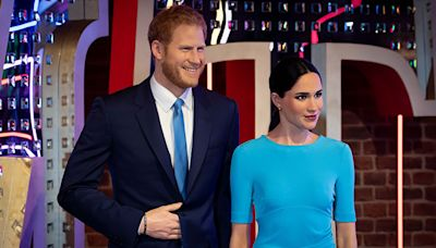 Prince Harry & Meghan Markle's Wax Figures Get Moved Away From Royals to 'Party Zone'