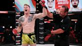 Charlie Campbell shoots his shot at Jake Paul after Bellator 262 win, says 'your girls are mine'
