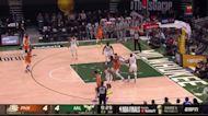 Chris Paul with a 2-pointer vs the Milwaukee Bucks