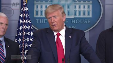 Trump: US would help Iran, North Korea fight virus