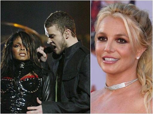 Justin Timberlake 'insisted' on Janet Jackson's infamous wardrobe malfunction to one up Britney, claims stylist