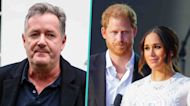 Piers Morgan Calls Meghan Markle & Prince Harry The 'World's Most Toxic Royals' Over NYC Trip