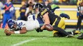 Steelers' T.J. Watt proves he's worth every penny of record contract as he goes through squadron of Seahawks