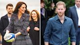 Kate Middleton set to replace Prince Harry in his beloved role as England rugby patron