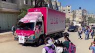Stigma-fighting breast cancer van hits Gaza streets
