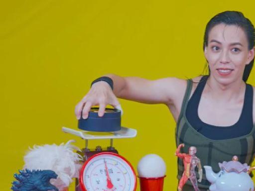 奧運金牌有多重?郭婞淳盲測手感超準 合體賈永婕比「愛心」
