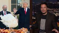 Trump Pardons His Last Thanksgiving Turkey | The Tonight Show