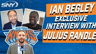 Julius Randle excited about RJ Barrett, Mitchell Robinson making the leap this year   NBA Insider Ian Begley