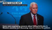 Pence says he hopes Supreme Court will further restrict abortions