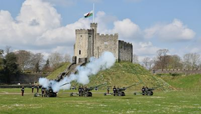 In Pictures: Gun salutes and flowers honour Duke of Edinburgh