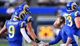 Hear what Sean McVay told the Rams after Week 7 win vs. Lions