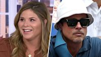 Hoda teases Jenna for sitting next to Brad Pitt at US Open and not inviting her