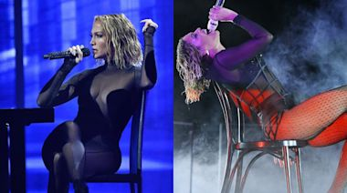 Twitter Is Noticing Major Similarities Between J.Lo's AMAs Set and Beyoncé's 2014 Grammys Show