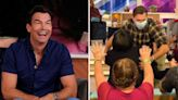Jerry O'Connell JUMPS into audience on live TV as fans call him 'overdramatic'