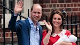 How the Duchess of Cambridge told a national and personal story with a dress when Prince Louis was born