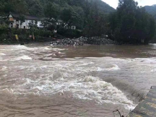 河南再面臨水災 兩村官疑被洪水沖走