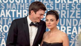 Happy 42nd Birthday, Ashton Kutcher: Relive His Most Romantic, PDA Moments With Mila Kunis