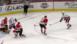 Oliver Wahlstrom with a Goal vs. Chicago Blackhawks