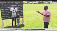 One-On-One With Matthew Slater At Patriots Training Camp