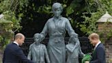 Harry, William honor Princess Diana with statue: 'We wish she were still with us'