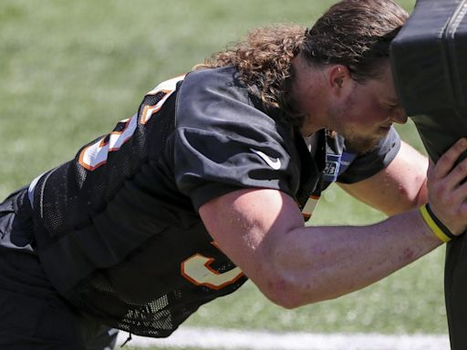 Bengals seventh-rounder Wyatt Hubert out for year with torn pec