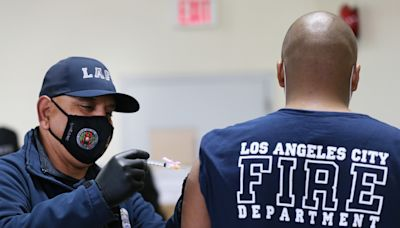 Vaccines: LA firefighters lawsuit is 'directly aimed at trying to repeal the mandate'