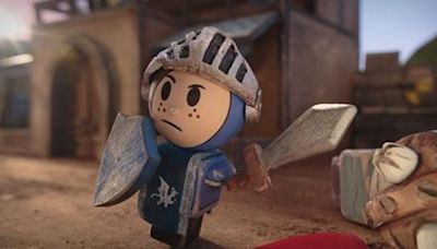 Hulu's 'Crossing Swords' Teaser Asks: What If 'The Lego Movie' Had Nudity?